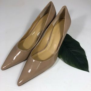 Nine West size 8M nude heels